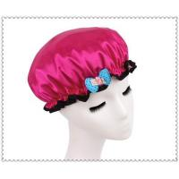 Cheap Shower cap with bow wholesale