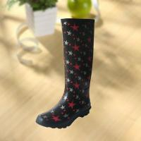 Cheap Fashion Star Pattern Rubber Knee Boot For Woman wholesale
