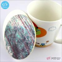 Cheap Products Drink coasters promotional tea cup mats absorbent paper coaster wholesale