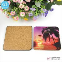 Cheap Products 10*10cm MDF mats custom printed blank beer coasters cork coasters wholesale