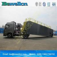 Cheap 77m3frac tank with wheel for use in the oil industry wholesale