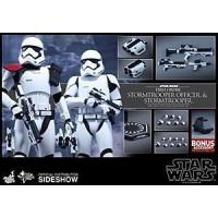 Cheap Hot Toys Star Wars The Force Awakens Stormtrooper Officer/Stormtrooper 2 Pack wholesale