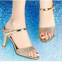 China Latest Ladies High Heel Sandals Designs on sale