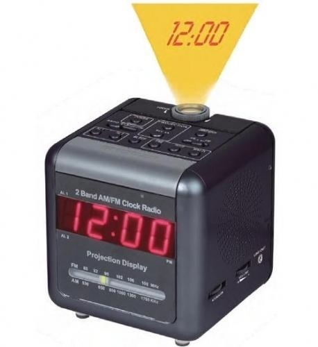 China Spy Projection Clock DVR with Night Vision