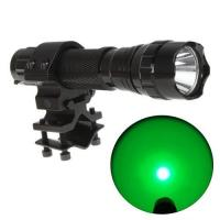 Buy cheap 250Lumen 501BProfessional LedHunting Flashlight Outdoor Led Green Torch from wholesalers
