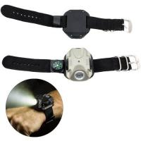 Buy cheap 240Lumen XPE Led Wrist LightLedFlashlight with Compass from wholesalers