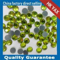 China lead free stone -4 low lead crystal low lead beads low lead pedreria olivine color on sale