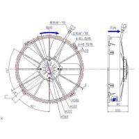 Buy cheap Condenser Fan ASSEMBLY Suit Spal 24V 5 Blades GP2201X from wholesalers