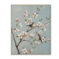 Cheap Artwork Chinese Folk Plum Flower Canvas Wall Art Framed Wall Decor CA-F 2026.CA-F 2027 wholesale