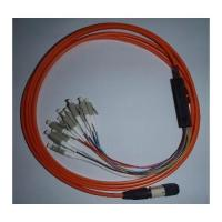 Fiber Optic MPO MTP LC Harness Breakout Patchcable