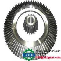 Cheap Alloy Steel Oil Drilling Rig Transmission Part Helical Bevel Gears wholesale