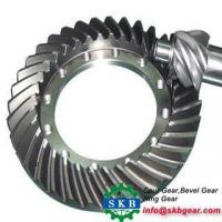Cheap Helical Bevel Gear Agricultural Machinery Tractor Drive Axle Spiral Bevel Gear wholesale