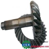 Cheap high quality gleason spiral bevel gear in atv rear axle wholesale