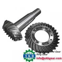 Buy cheap Durable in use spiral bevel gear for spareparts from wholesalers