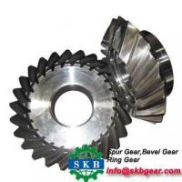 Buy cheap alloy steel hardened surface small straight teeth bevel gears for gearbox from wholesalers