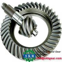 Cheap Helical hobbing machine spiral band spiral bevel gear set wholesale