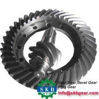 Cheap Straight Bevel Gears with Special Hub wholesale