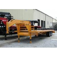 Cheap 10 Ton Tandem Dually Gooseneck Deck-Over Trailers wholesale