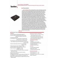 All LUSTER 13000-VD-1/2-SDI SERIES Managed (HD) SDI (one - two-way) video + data Optical