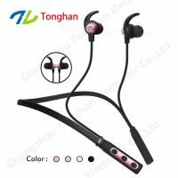 Magnetic sport wireless bluetooth headphone headset from China