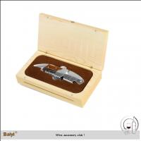 China Durable Easy-To-Use Wholesale Multifunction Custom Wooden Wine Gift Box Opener/ Corkscrew on sale