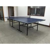 China Professional Table Tennis Table with 16mm MDF Top , Table Pingpong with wheels on sale