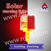 Red inserted and fixed solar warning light Admin Edit