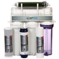 China 5 Stage Aquarium Reef Reverse Osmosis (RO/DI) Water Filter System 50 GPD USA on sale