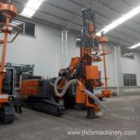 Buy cheap Hydraulic Crawler Rig Water Borehole Drilling Machine from wholesalers