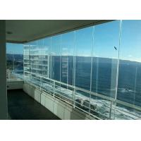 Cheap Balcony Glazing Slide and Stack Window wholesale