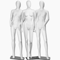 Buy cheap Metal Fitting Female Mannequins easy to be installed from wholesalers