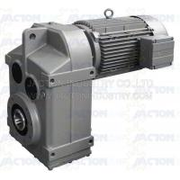 China F127 FA127 FF127 parallel helical bevel gear reducer motor with brake on sale