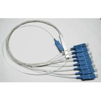 Buy cheap Passive Components PLC Fiber Optic Splitter 1 8 0.9mm Cable For FTTX Networks / PON Networks from wholesalers