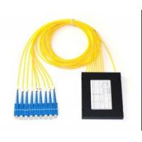 Buy cheap Passive Components ABS Box G657A1 Fiber Optic Splitter High Channel Counts For LAN / FTTX Systems from wholesalers