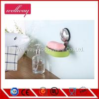 Cheap No-Drilling Soap Dish Holder, Stainless Steel Towel Hanger with Suction Cup wholesale