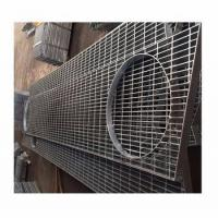 Buy cheap Non-Slip anti-vertigo manual welded safety grate hot dip galvanized steel bar grating from wholesalers