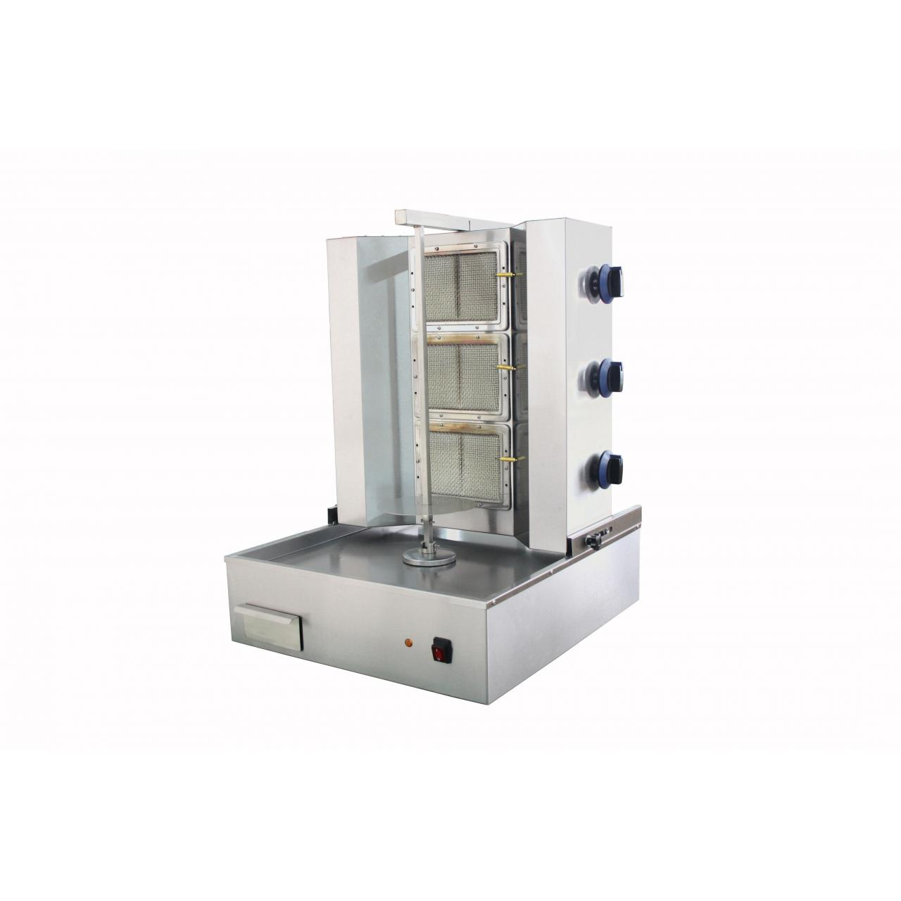 Buy cheap Gas Shawarma Machine 2 Burners Vertical Shawarma from wholesalers