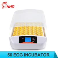 Buy cheap HHD brand automatic poultry chicken egg incubator for 56 eggs from wholesalers