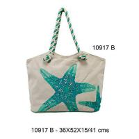 Buy cheap 10917B - Cotton Beach Bags from wholesalers