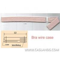 Cheap Sewn Nylon Brush Fabric Bra Wire Case/Casing UW9J-02 wholesale