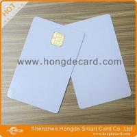 Cheap Contact IC Card FM4442 blank white card wholesale