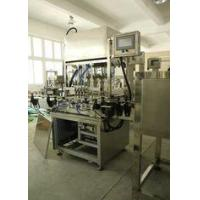 Buy cheap Customized Auto Paste , Shampoo Filling Machine Bottle Filling Machinery from wholesalers
