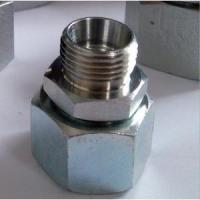 China Hydraulic Reducer Adaptor Swivel Nut Metric Tube Fittings on sale