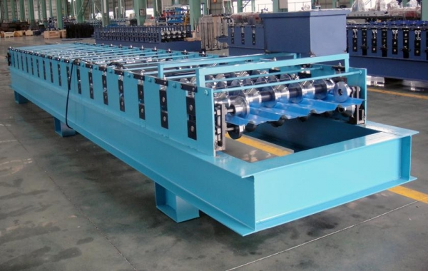 China Roof Sheet Roll Forming Machine