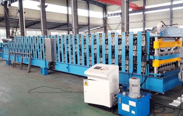 China Triple Layer Roll Forming Machine