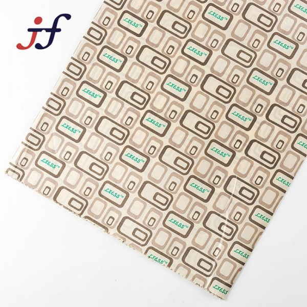 China 8kg printing taffeta fabric for bag lining