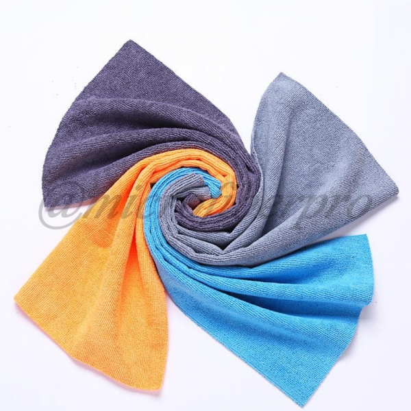 China Ordinary Warp Microfiber Towel