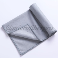 Buy cheap Glass Cleaning Microfiber Towel/Cloth from wholesalers